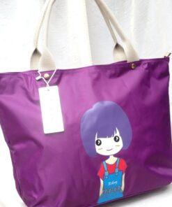 Purple Tote hand bag