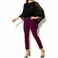 High quality global Chic 360 slimming girlfriend Jeans