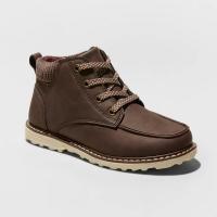 Boys' Archer Fashion Boots – Cat & Jack Brown 1, Boy's
