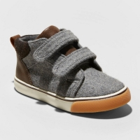 Cat & Jack Toddler Boys' Harrison Sneakers, Gray, Us Size 12