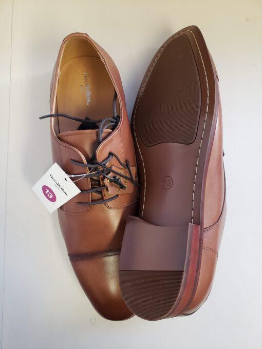 Men leather toe shoe