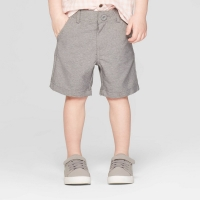 Toddler Boys' Quick Dry Chino Shorts – Cat & Jack Heather Gray 5T