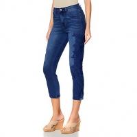 New Diane Gilman vertual stretch lace crop skinney jeans